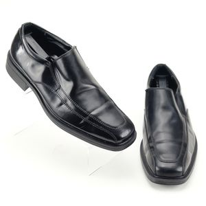 Unlisted Club Ing II Loafers 9.5 Black Mens Shoes